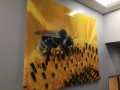 Bee- on-Acrylic panel