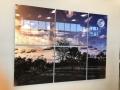 7 piece acrylic wall art
