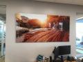 Arizona canyon printed on acrylic