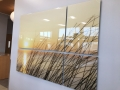 4 piece acrylic wall pane