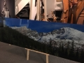 Extra large acrylic panoramic