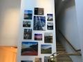 Acrylic image  collage on wall