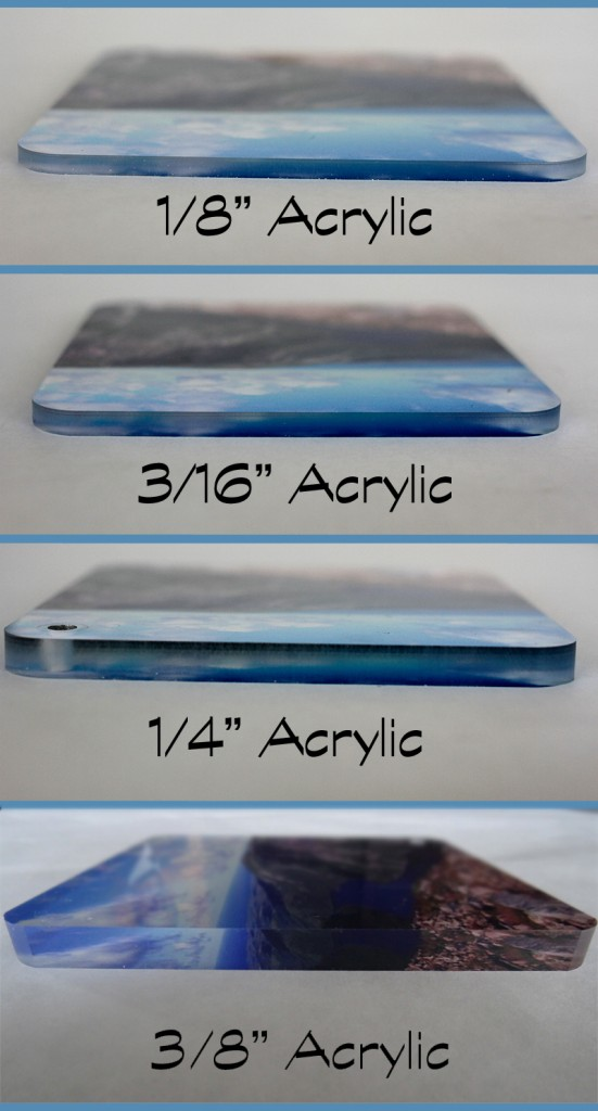 acrylic thickness - remove sintra