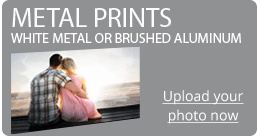 metal prints side banner
