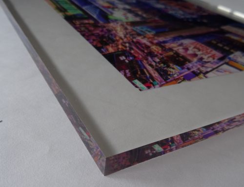 Digital printing on 3/8″ Acrylic Panel