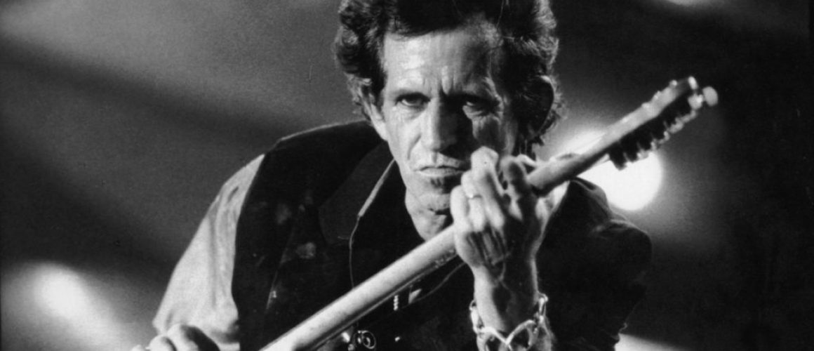 Image of guitarist Keith Richards.