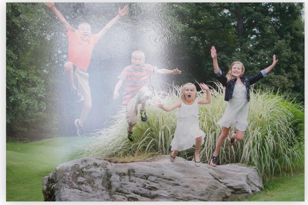 family kids shiny