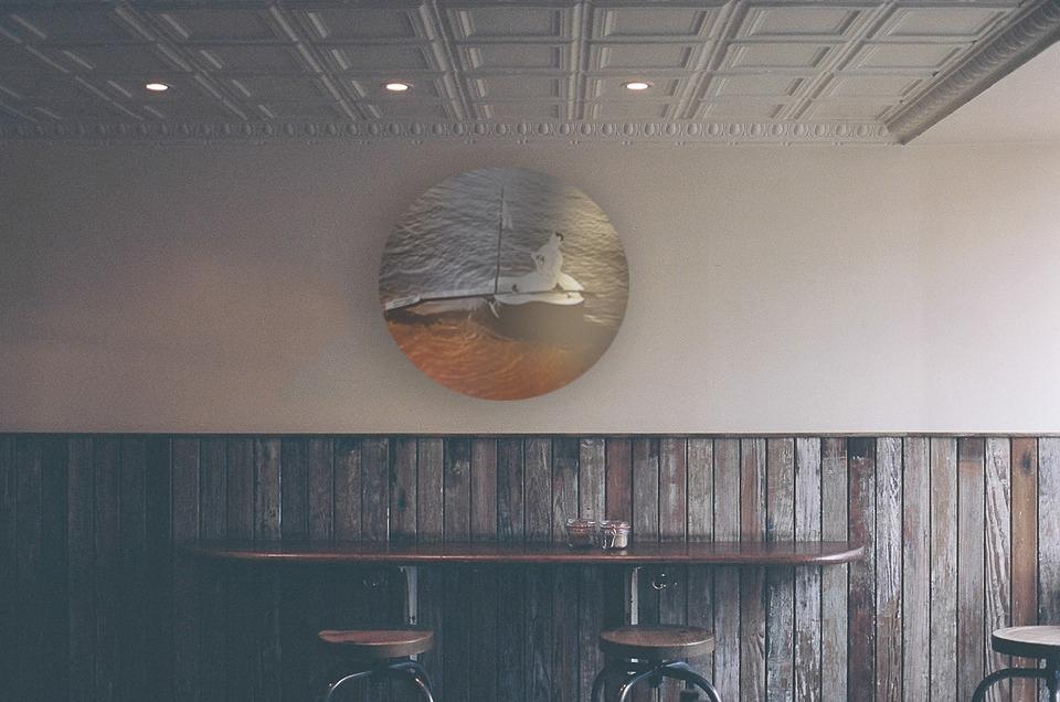round wall art