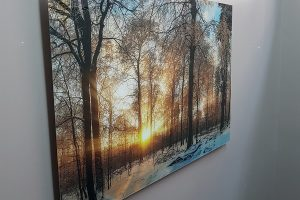 acrylic-winter-sunset