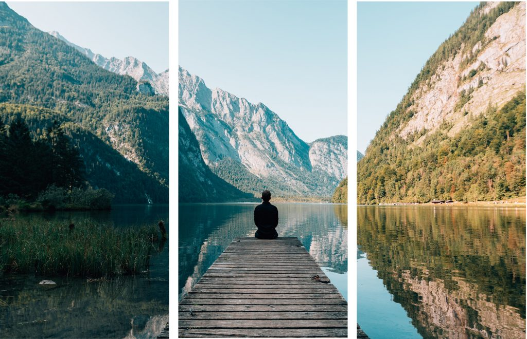Triptych art prints usually work best with interesting photos.