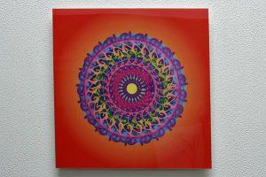 mandala circle wall art