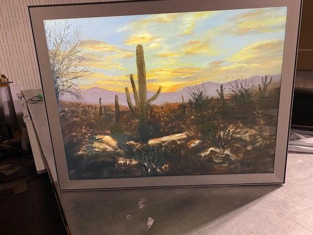 backlit acrylic panels