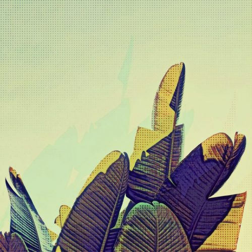 Pop-Art-Banana-Leaf