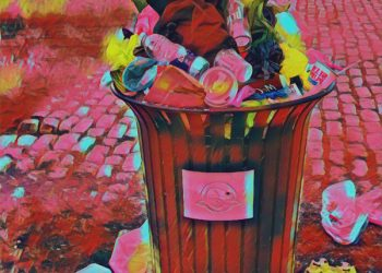 600_bigacrylic_boquet_of_garbage