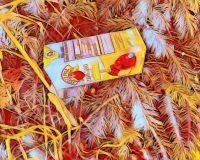 Abstract Acrylic Art Print: Bright Juice