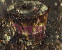 Abstract Acrylic Art Print: Burn Box