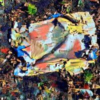 Abstract Acrylic Art Print: Radical Mood