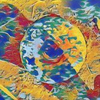 Abstract Acrylic Art Print: Shocker